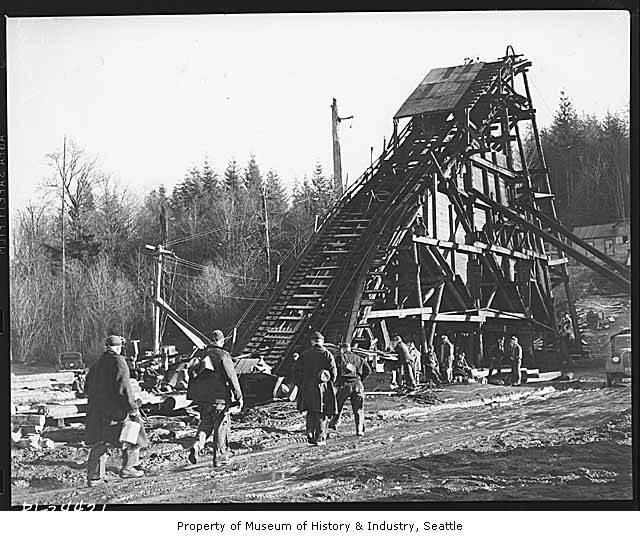 Ginder Lake coal mine, 1941