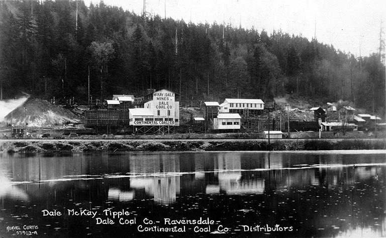 Dale Coal Mine Ravensdale 1927