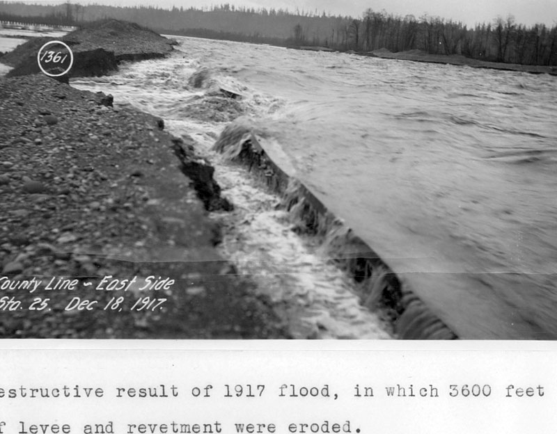 Flooding in 1917