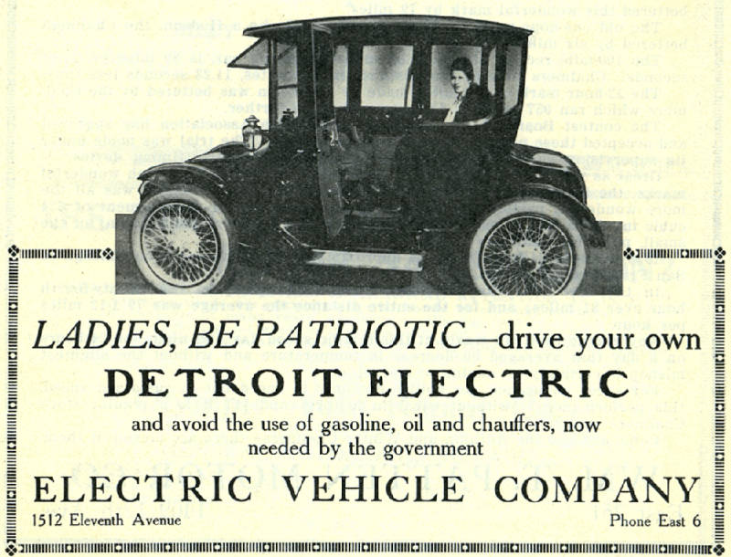 Electric auto detroit