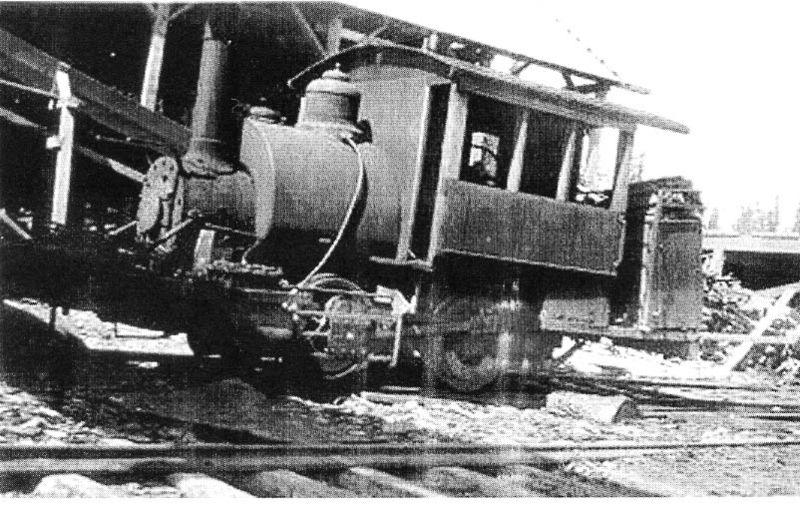 LS lumber co Locomotive # 2  0-4-0 tank