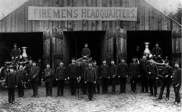 1889 fire department