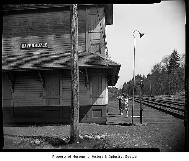Ravensdale Rail Depot