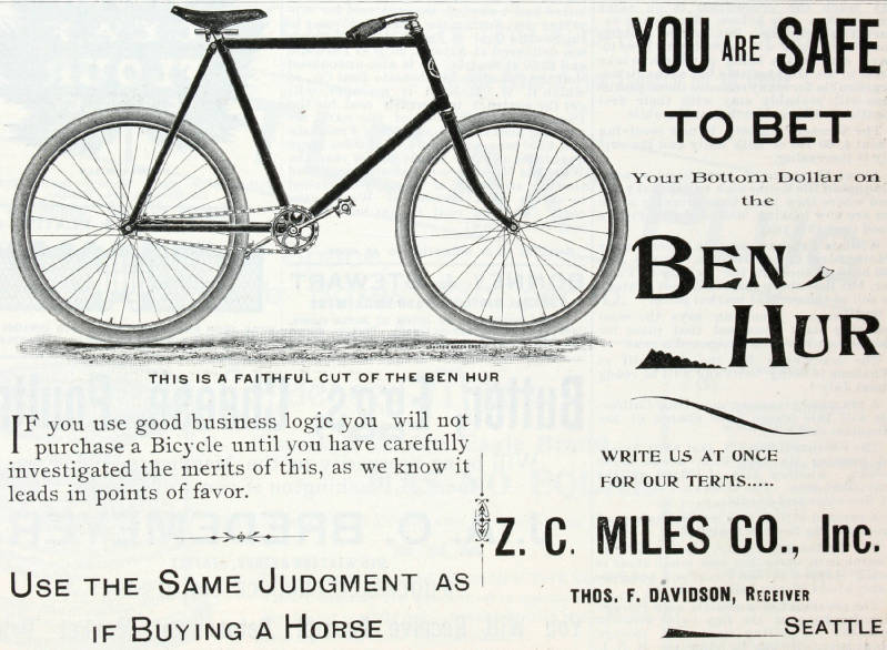 Bicycle ben hur 1896