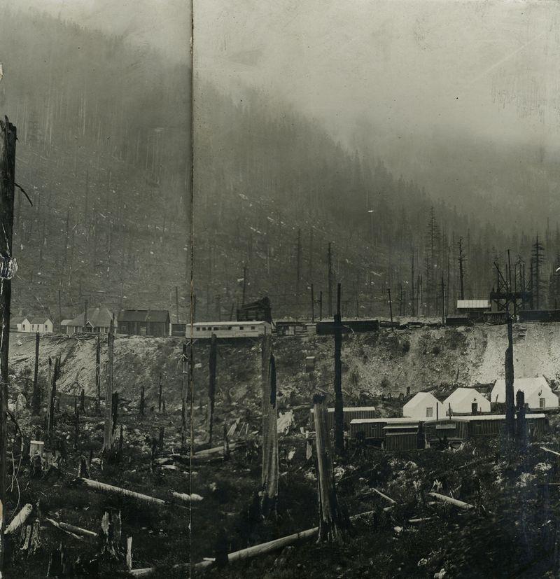 Logging camp 1910
