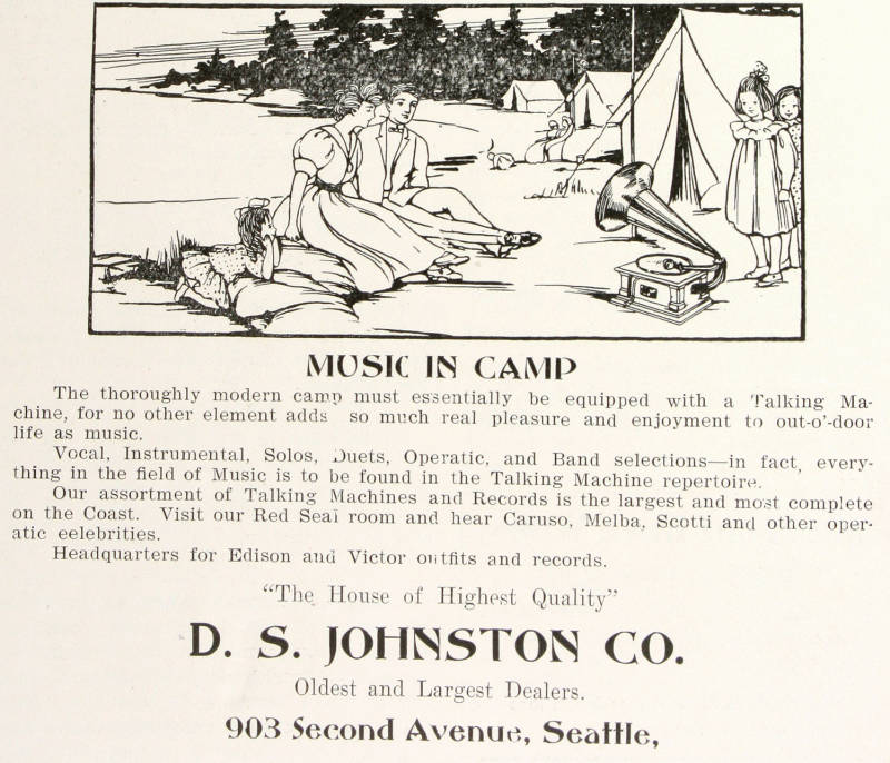 Music in camp 1907