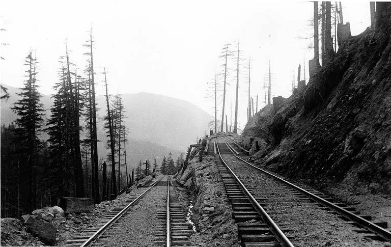 Railroad switchback nd