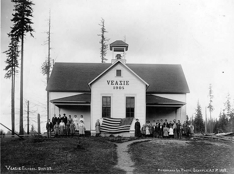 Veazie school 1909