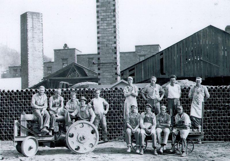 Taylor brick plant workers 2