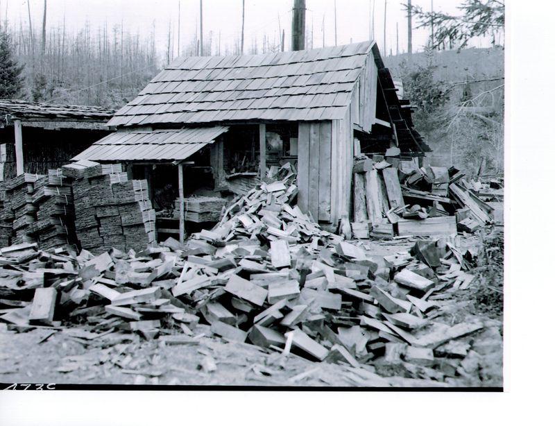 Hay shingle mill 1911