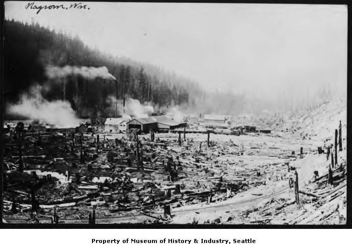 Sawmill at nagrom 1912