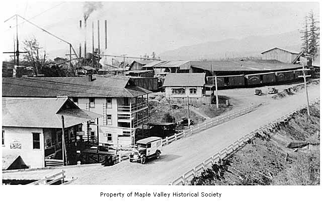 Hobart business district 1925
