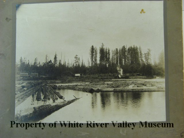 Covington lumber mill pond