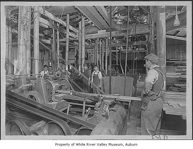 Covington mill interior