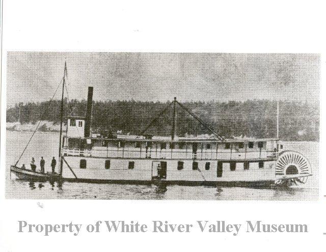 Lily river boat white river