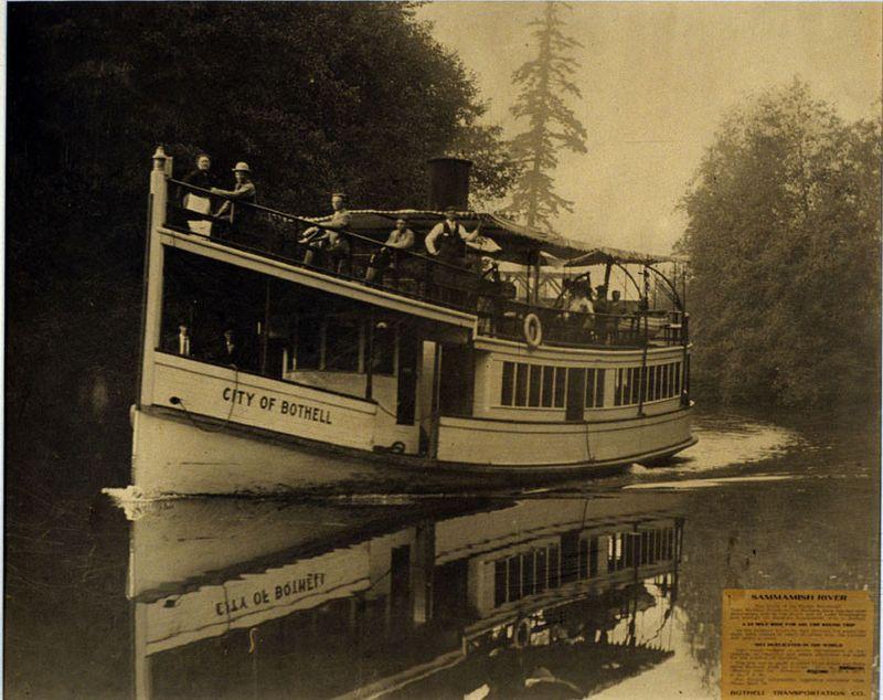 Sammamish river ferry 1910