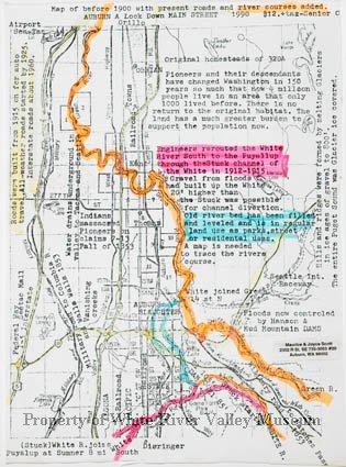 White river map