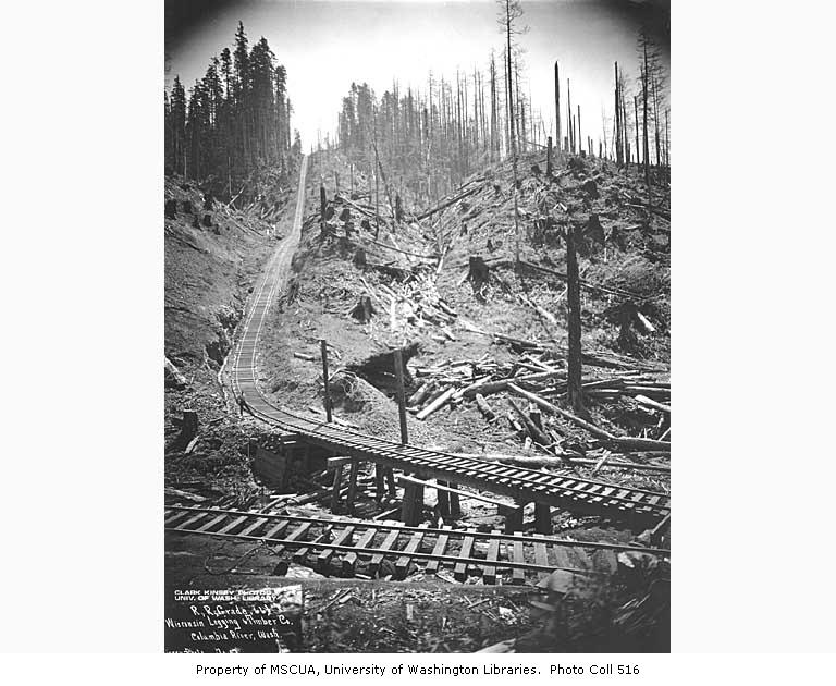 Incline railway 66 pct grade