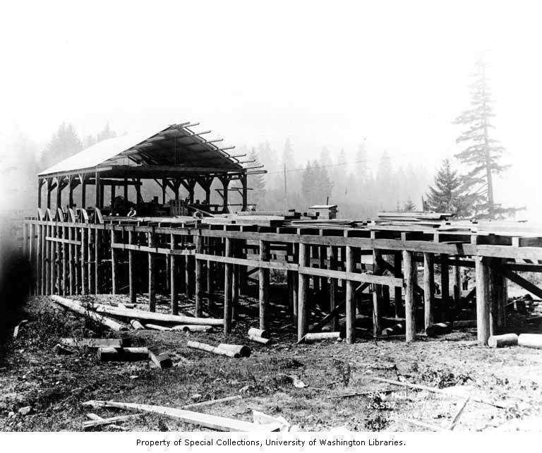 Lake tapps sawmill 1910