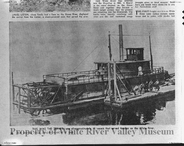 Zepher river boat white river