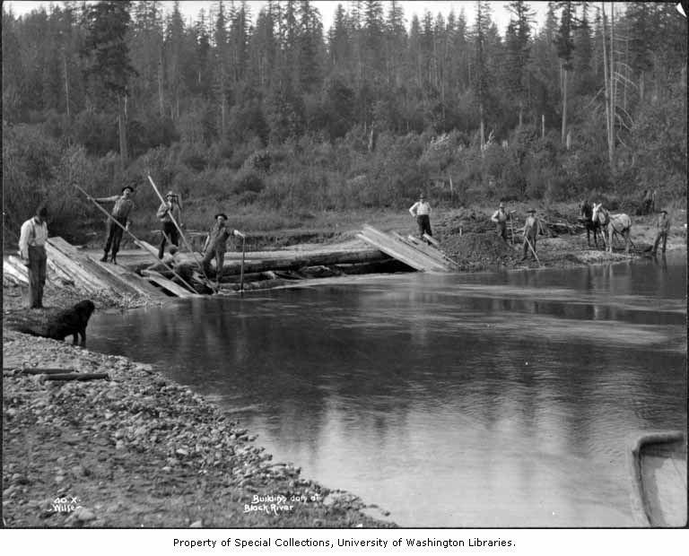 Black river dam 1899