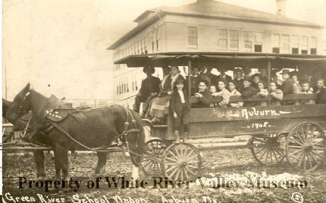 1908 school wagon