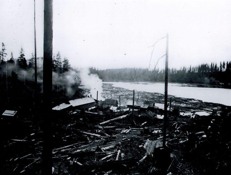 Walsh lake sawmill