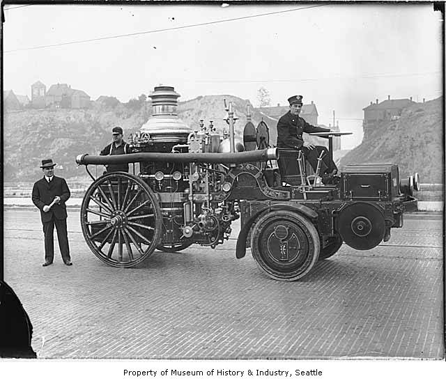First seattle fire engine 1914