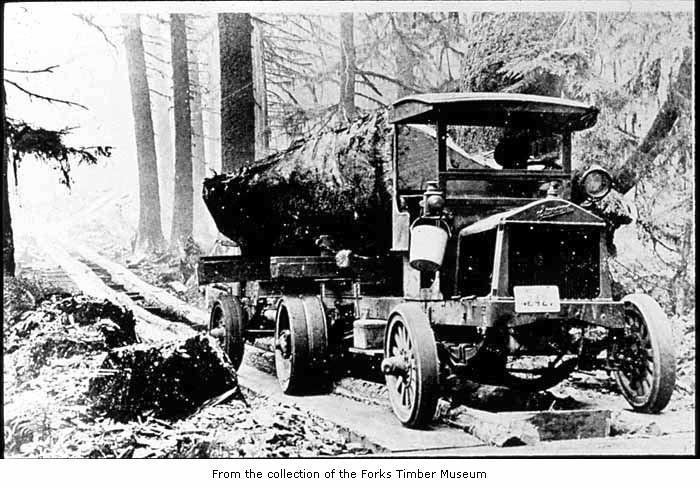Early log truck