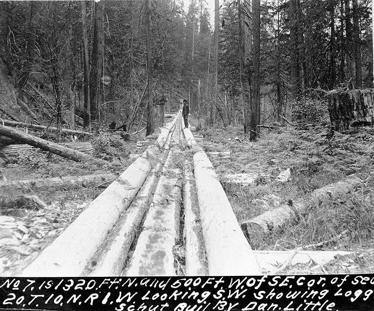 Log chute 1898
