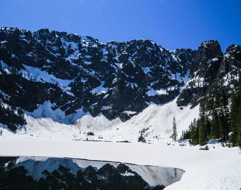 A lake mirror 1-1-2