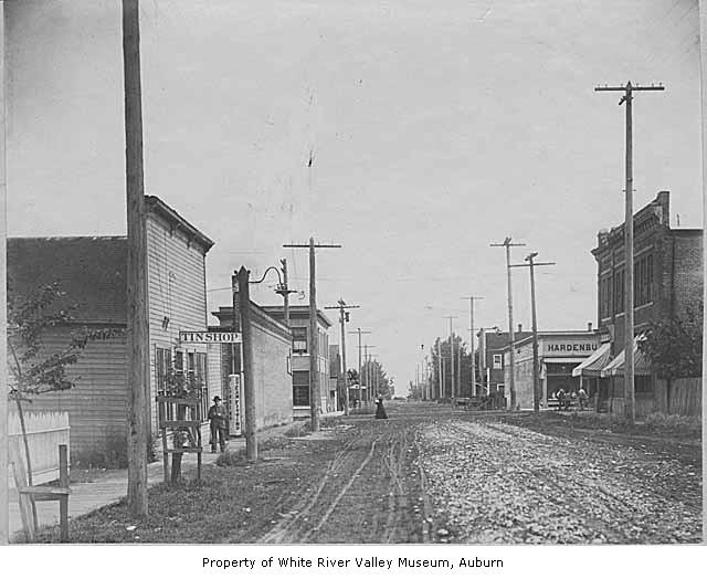Auburn main street 1908