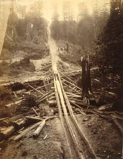 Log chute 1889