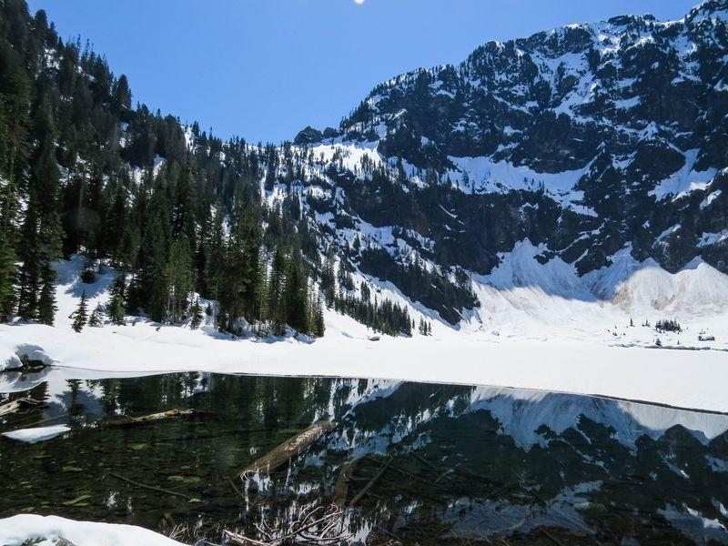 A lake mirror 2-1