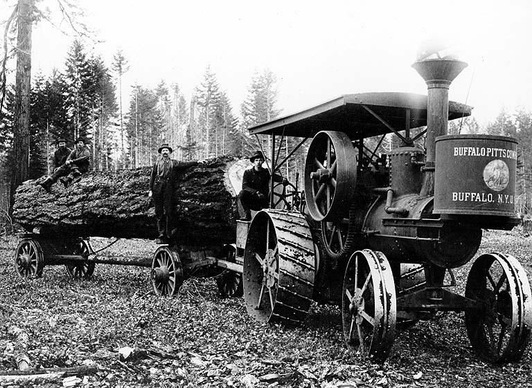 Steam tractor 2