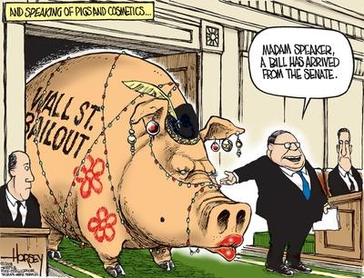 Economy-Wall-Street-Pigs-at-the-Trough