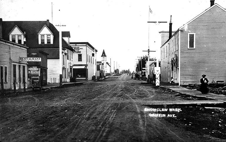 Enumclaw griffin ave 1910