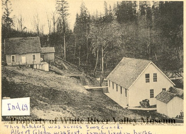 Soos creek salmon hatchery 1901