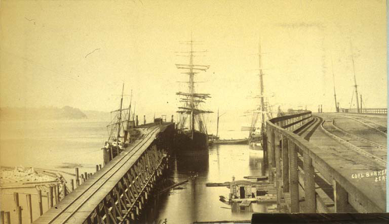 King street coal wharves 1889