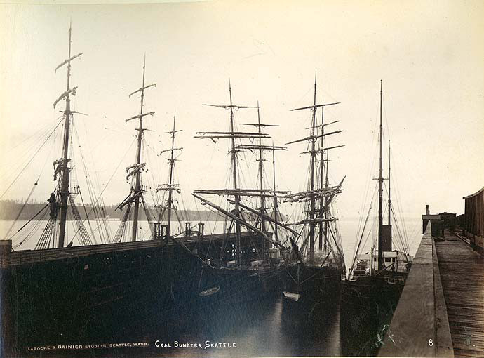 King street coal wharves 1891