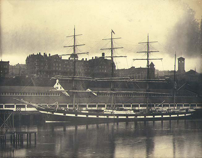 Northwest improvement co dock in tacoma 1902