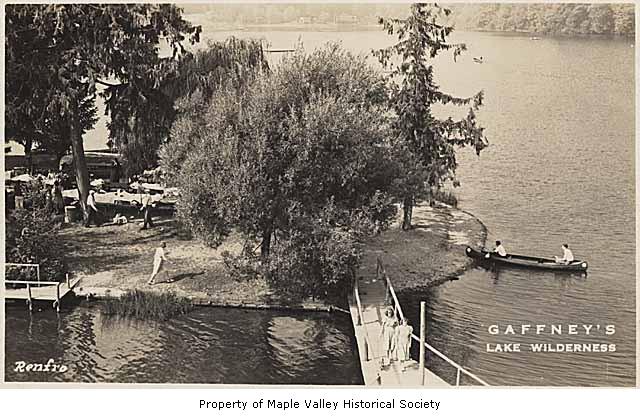 Gaffneys canoe